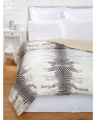 Roberto Cavalli Zebra Duvet, Beige, King