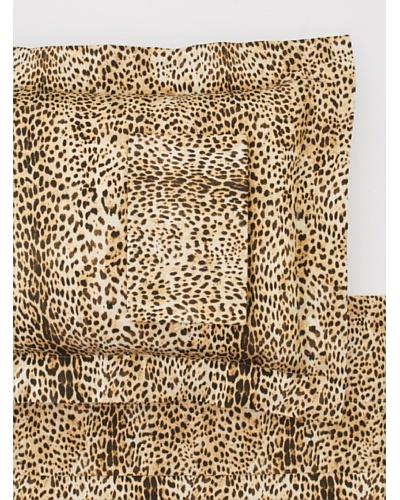 Roberto Cavalli Maculato Sheet Set [Beige]