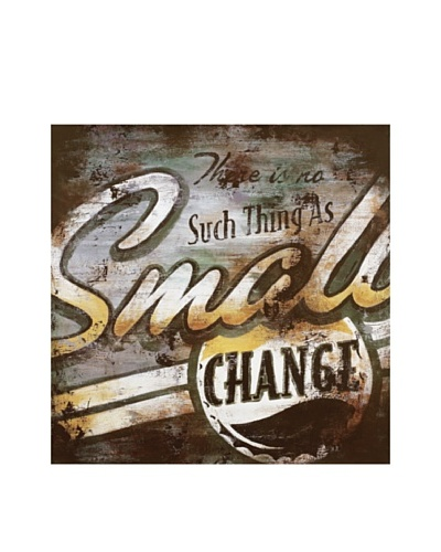 Rodney White Small Change Printed Art