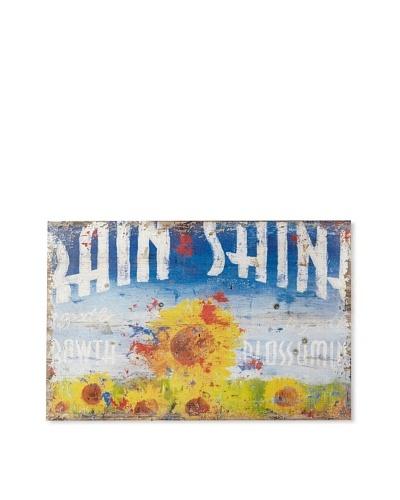 Rodney White Rain & Shine Printed Art