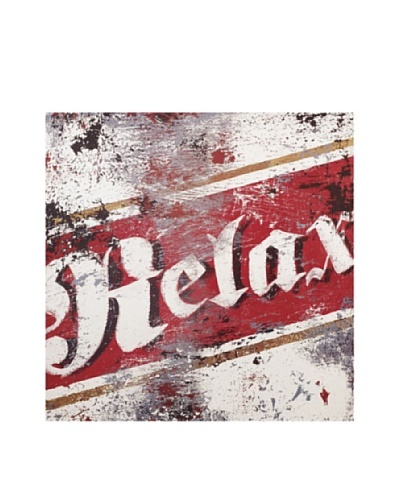 Rodney White Relax Printed Art