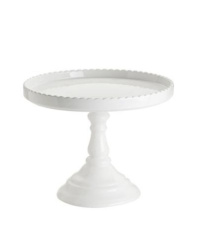 Rosanna Décor Bon Bon White Round Cake Stand