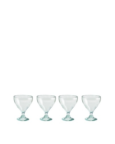 Rosanna Set of 4 Lustre 4-Oz. Cocktail Glasses, Clear
