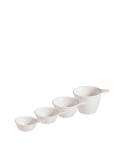 Rosanna Set of 4 White Bungalow Measuring Cups