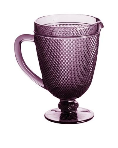 Rosanna Pressed Glass 40-Oz. Pitcher, Purple