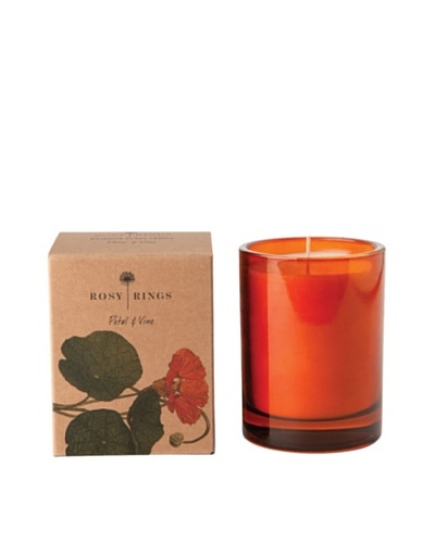Rosy Rings Botanical Glass Candle, Petal & VineAs You See