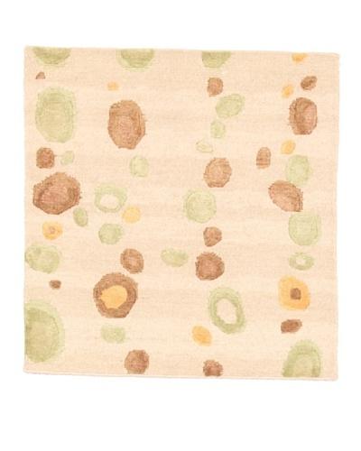 Roubini Campion Platt Ballast Hand Knotted Rug, Multi, 2' Square