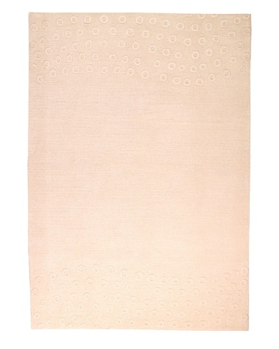 Roubini Tibetani Tibetan Nature Collection Rug, Cream, 5' 5 x 8'