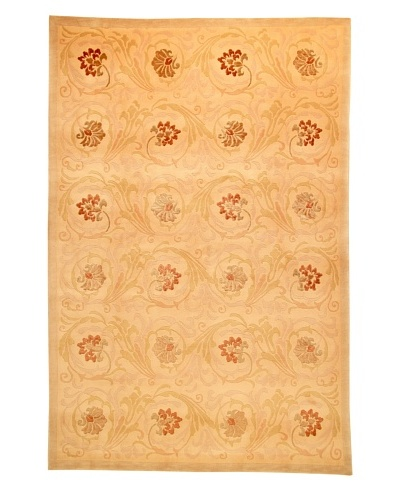 Roubini Tibetani Tibetan Super Fine Collection Rug, Cream Multi, 6' x 9'