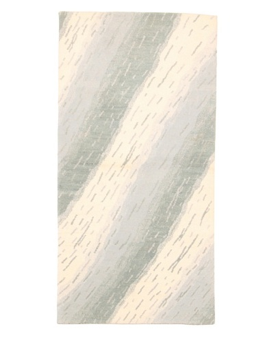 Roubini Campion Platt Layers Hand Knotted Rug, Multi, 2' x 4'