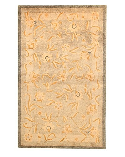 Roubini Tibetan Vegetable Dyed Hand-Knotted Rug, Multi, 5' 5 x 8'