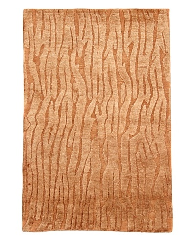 Roubini Moss Hand Knotted Rug, Multi, 2' x 3'