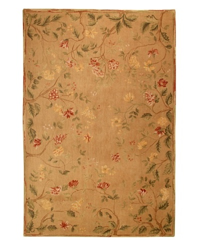 Roubini English Garden Hand Knotted Wool Rug, Multi, 6' x 9'