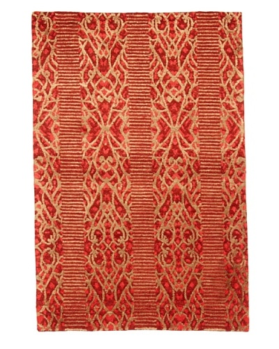 Roubini Bois 2 Hand Knotted Rug, Multi, 2' x 3'
