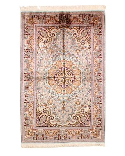 Roubini Srinagar Silk Fine Rug, Multi, 6' 2 x 3' 11