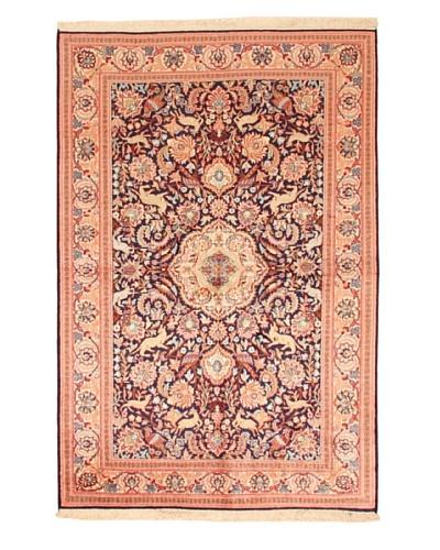 Roubini Srinagar Silk Fine Rug, Multi, 6' 2 x 4'As You See