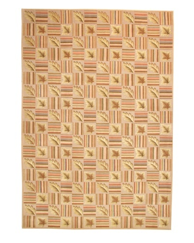 Roubini Milano Hand Knotted Wool & Silk Rug, Multi, 6' x 9'