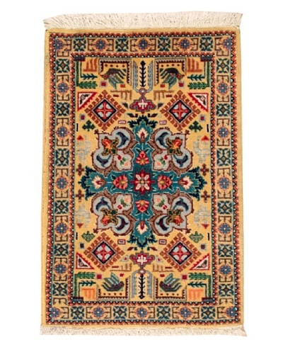"Roubini Tabriz Wool Rug, Multi, 2' 10"" x 1' 10"""