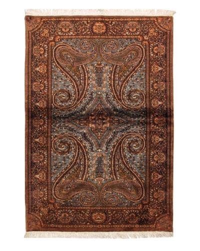 Roubini Jaipur Fine Rug, Multi, 6' 2 x 4' 3