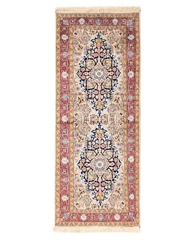 Roubini One of a Kind Srinigar Silk Rug [Blue Multi]