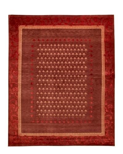 Roubini Tibetani Tibetan Super Fine Collection Rug, Red Multi, 8' x 10'