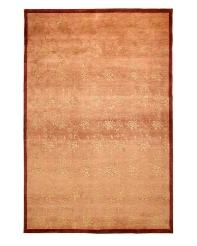 Roubini Tibetani Tibetan Super Fine Collection Rug, Rust, Cream, 6' x 9'