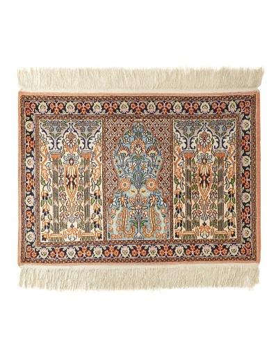 Roubini Srinagar Silk Rug, Multi, 2' x 3'