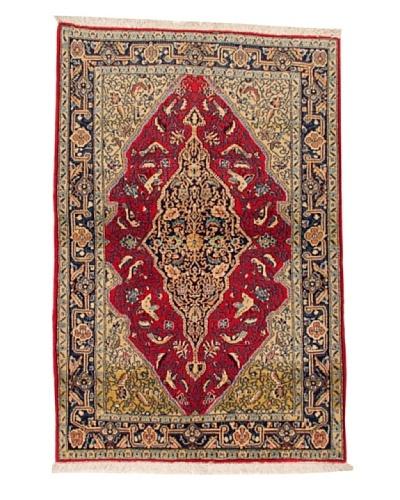 Roubini Qum Wool Rug, Multi, 5' 3 x 3' 6