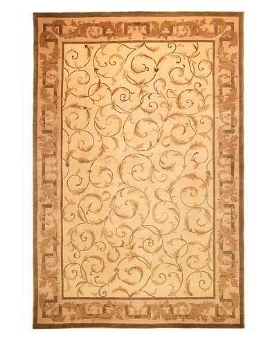 Roubini Tibetani Tibetan Super Fine Collection Rug, Cream Multi, 6' x 9'