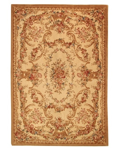 Roubini Versailles Hand Knotted Wool Rug, Multi, 6' x 9'