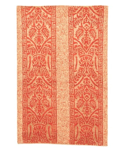 Roubini Fleurie Hand Knotted Rug, Multi, 2' x 3'