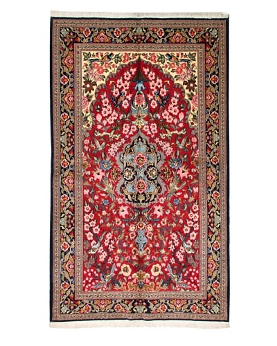 Roubini Qum Kurk Wool Rug, Multi, 8' 8 x 5' 2