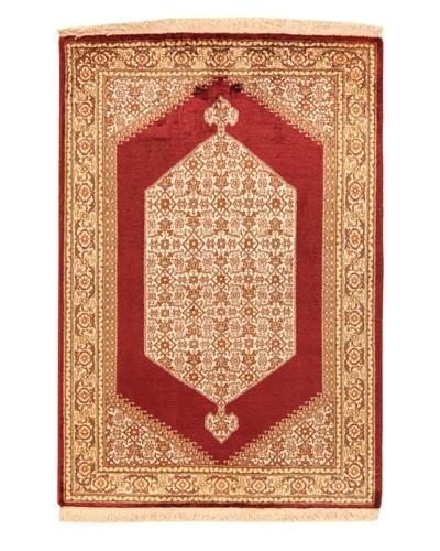 Roubini Srinigar Rug Silk Fine, Multi, 3' 1 x 2' 1