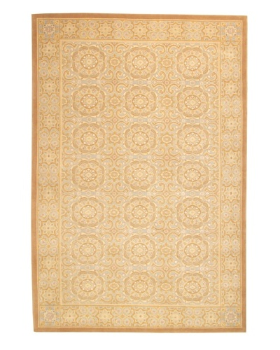 Roubini Castle Hand Knotted Wool Rug, Multi, 6' x 9'