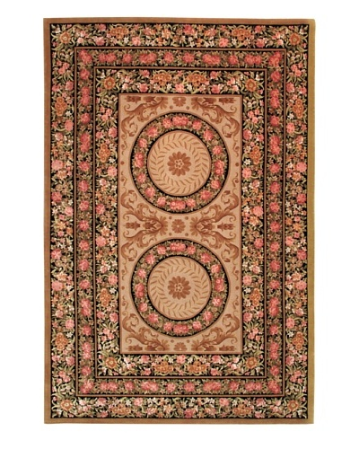 Roubini Vendome Hand Knotted Wool & Silk Rug, Multi, 6' x 9'