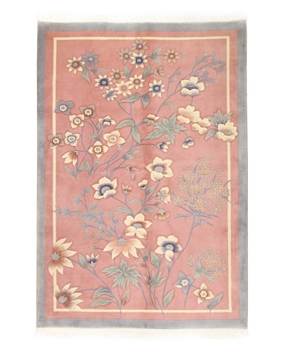 Roubini Chinese Art Deco Rug [Rose Multi]
