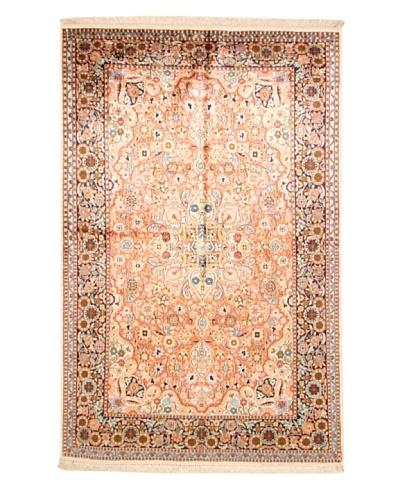 Roubini Srinagar Silk Fine Rug, Multi, 6' 5 x 4' 2
