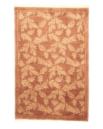 Roubini Tibetan Campo Hand Knotted Rug, Multi, 2' x 3'