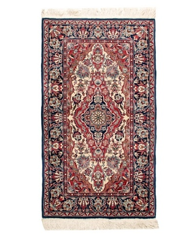 Roubini One of a Kind Isfehanbaf Rug [Blue Multi]