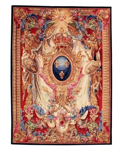 Roubini Museo Romano Hand Knotted Wool & Silk Rug, Multi, 5' x 8'