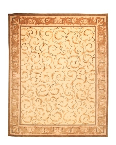 Roubini Tibetani Tibetan Super Fine Collection Rug, Cream Multi, 8' x 10'