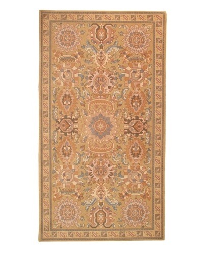 Roubini Modern Bouquet Hand Knotted Wool Rug, Multi, 5' 4 x 9' 10
