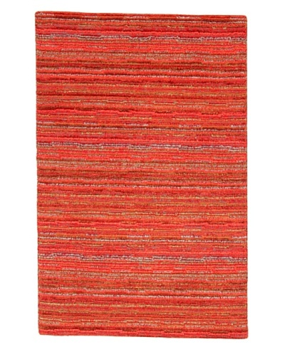 Roubini Lineare Hand Knotted Rug, Multi, 2' x 3'