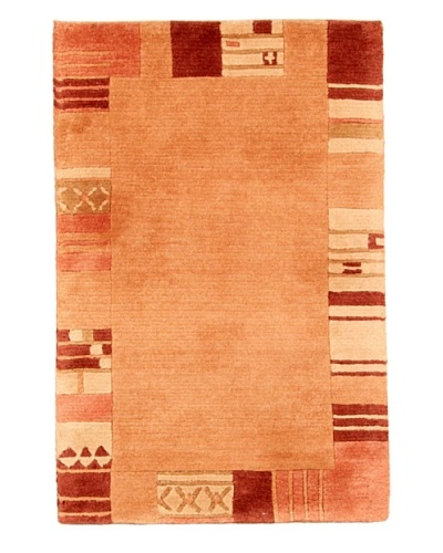 Roubini Dans Hand Knotted Rug, Multi, 2' x 3'