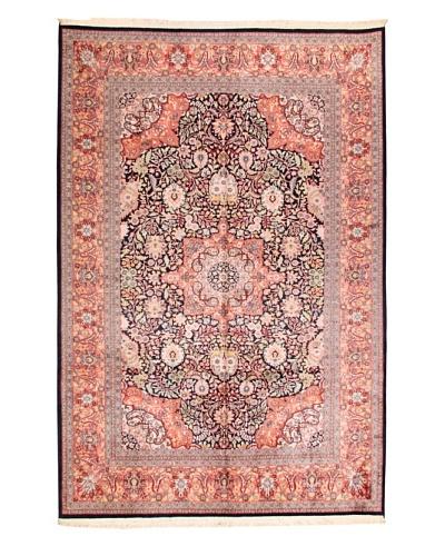 Roubini Srinagar Silk Fine Rug, Multi, 9' 3 x 6' 2