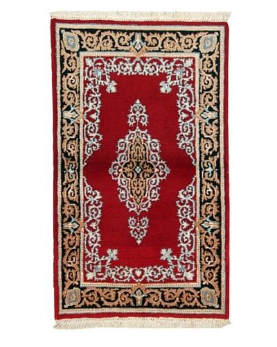 Roubini Kirman Wool Rug, Multi, 4' 1 x 2' 5