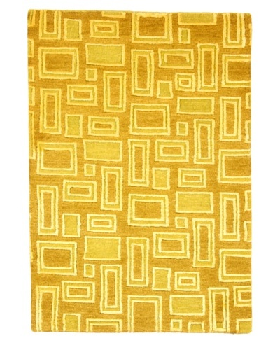 Roubini Dove Hand Knotted Rug, Multi, 2' x 3'