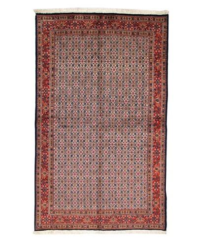 Roubini Mud Wool & Silk Rug, Multi, 8' 2 x 4' 11