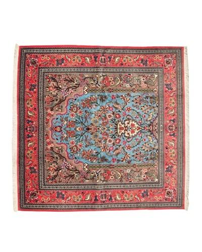 Roubini Qum Kurk Wool Rug, Multi, 6' 7 x 6' 6