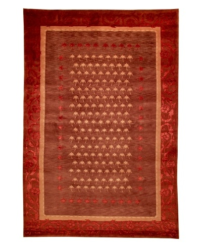 Roubini Tibetani Tibetan Super Fine Collection Rug, Red Multi, 6' x 9'